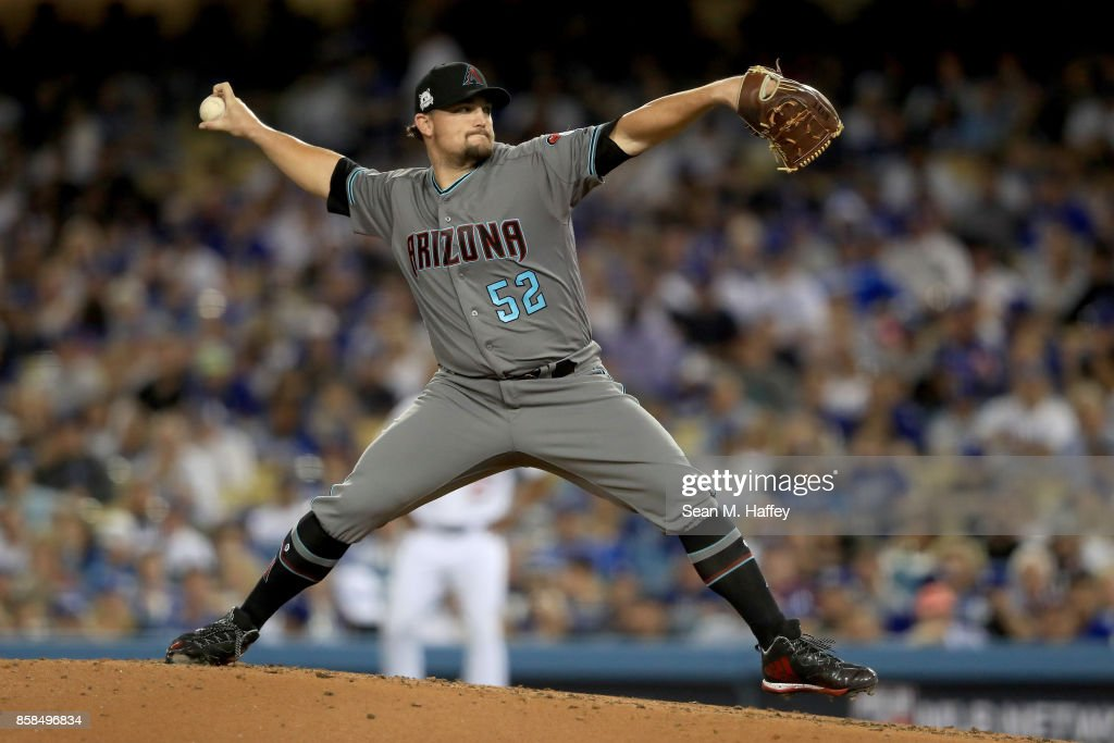 Divisional Round - Arizona Diamondbacks v Los Angeles Dodgers - Game One