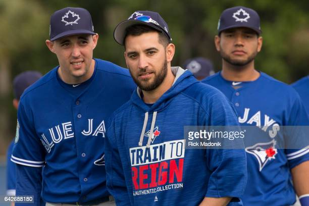 Pitchers Aaron Sanchez and Marcos Estrada as Lourdes Gurriel follows Toronto Blue Jays welcome the entire squad today as position players join the...