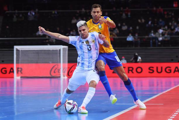 LTU: Brazil v Argentina: Semi-Final - FIFA Futsal World Cup 2021