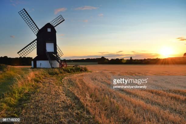 pitstone windmill, buckinghamshire, england, uk - バッキンガムシャー ストックフォトと画像
