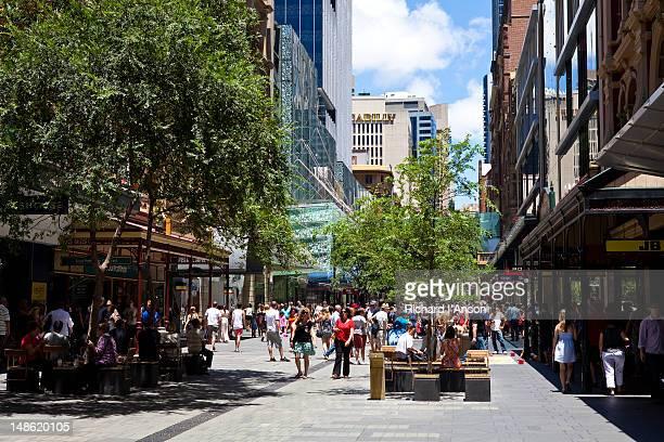 Pitt Street Mall.