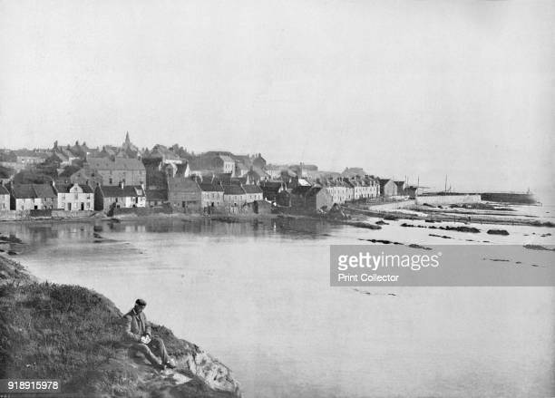 'Pittenweem From the West' 1895 From Round the Coast [George Newnes Limited London 1895]Artist Unknown