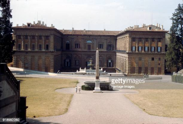 Pitti Palace and the Boboli Gardens in August Florence Italy c20th century Artist