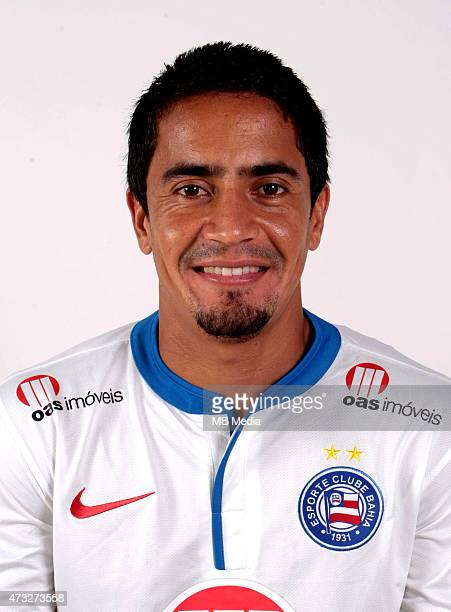 Pittoni of Esporte Clube Bahia poses during a portrait session August 14 2014 in SalvadorBrazil