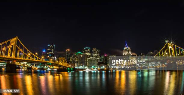 Pittsburgh from the North Side, 5:29 AM