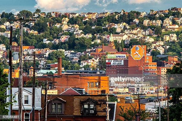 Pittsburgh is a city of hillside neighborhoods