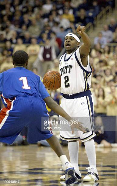 Pittsburgh Panthers Levance Fields in action against DePaul at the Petersen Events Center on January 12 2006 in Pittsburgh Pennsylvania