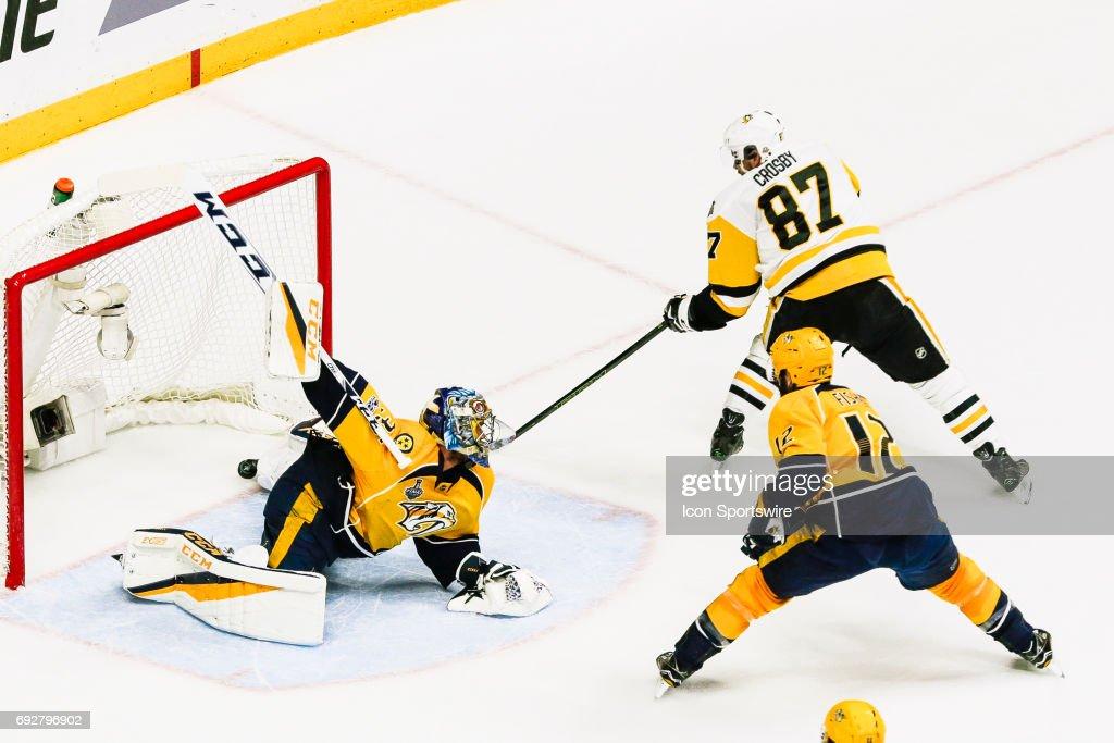 NHL: JUN 05 Stanley Cup Finals Game 4 Penguins at Predators