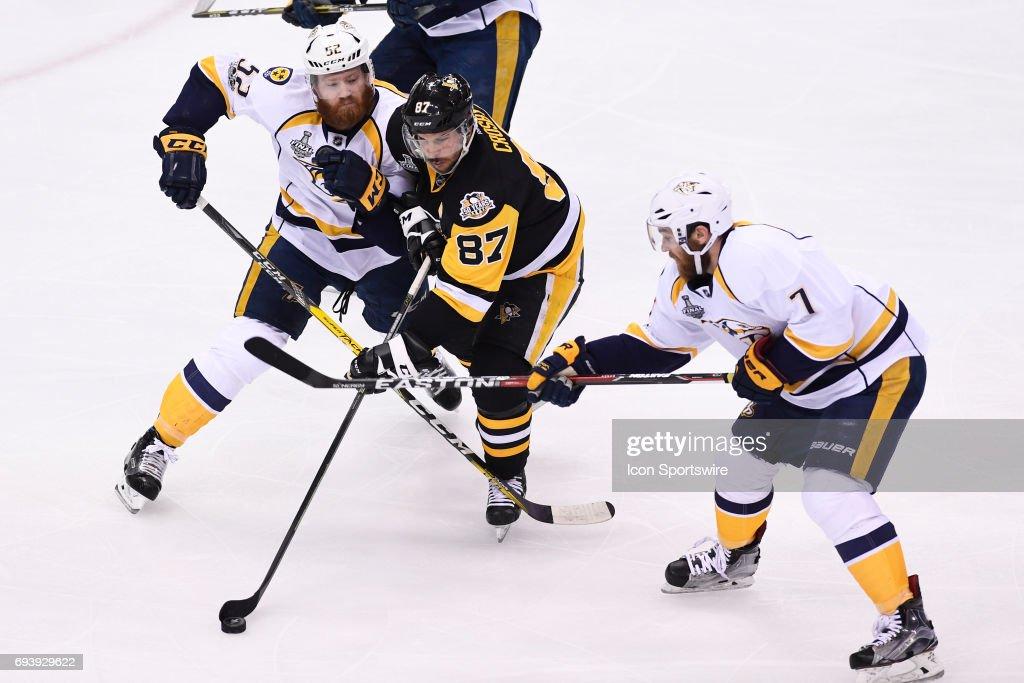 NHL: JUN 08 Stanley Cup Finals Game 5 - Predators at Penguins