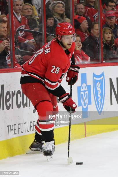 Pittsburgh Penguins Defenceman Ian Cole during the 1st period of the Carolina Hurricanes game versus the Pittsburgh Penguins on December 29 at PNC...