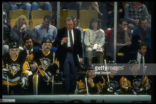 Pittsburgh Penguins general manager Bob Johnson. Mandatory Credit: Rick Stewart /Allsport