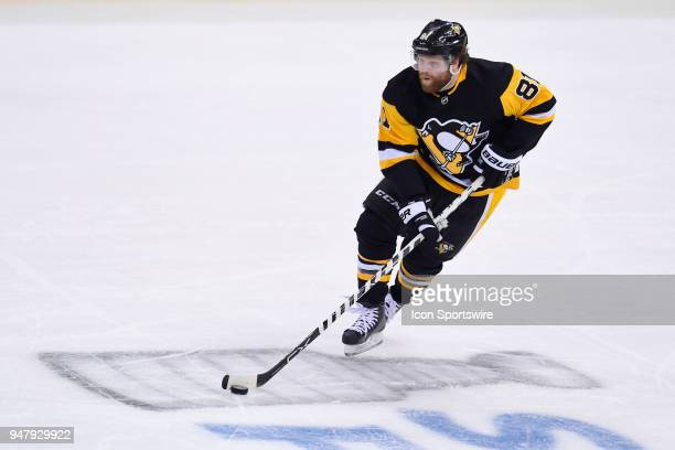 Pittsburgh Penguins right wing Phil Kessel brings the puck up ice during the second period The Philadelphia Flyers won 51 in Game Two of the Eastern...