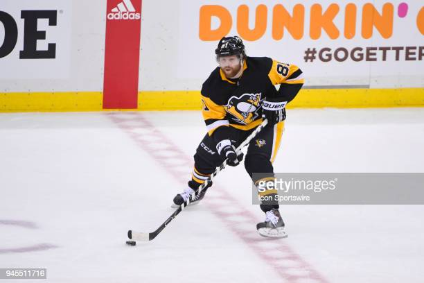 Pittsburgh Penguins right wing Phil Kessel skates with the puck during the second period The Pittsburgh Penguins won Game One of the Eastern...
