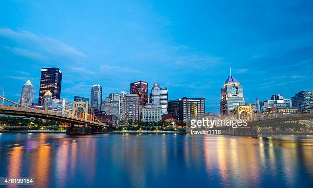 Pittsburgh, Pennsylvania At Night