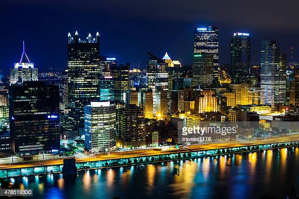Pittsburgh, Pennsylvania At Night