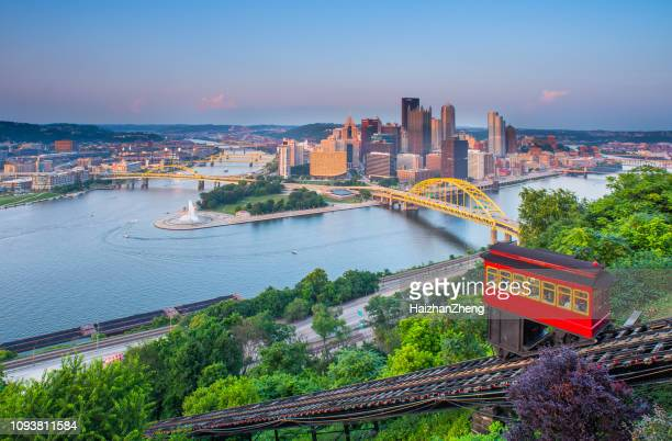 pittsburgh, pennsylvania, usa. - pittsburgh stock pictures, royalty-free photos & images