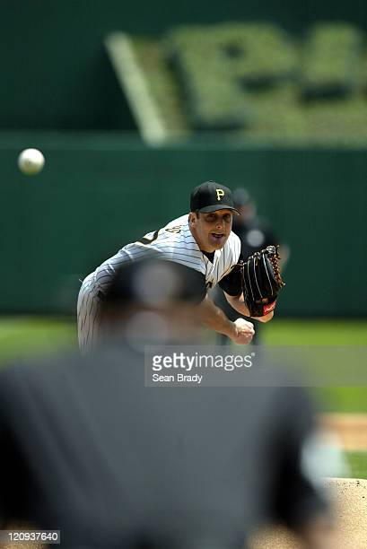 Pittsburgh Pirates pitcher Josh Fogg during action against the Colorado Rockies at PNC Park in Pittsburgh Pennsylvania on May 22 2005