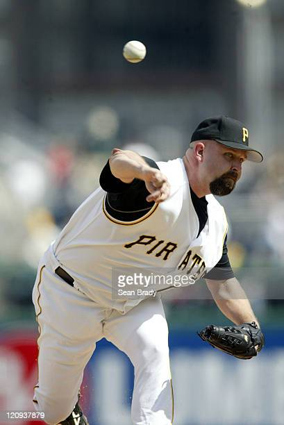 Pittsburgh Pirates pitcher Rick White in action against the Milwaukee Brewers at PNC Park in Pittsburgh Pennsylvania on May 15 2005