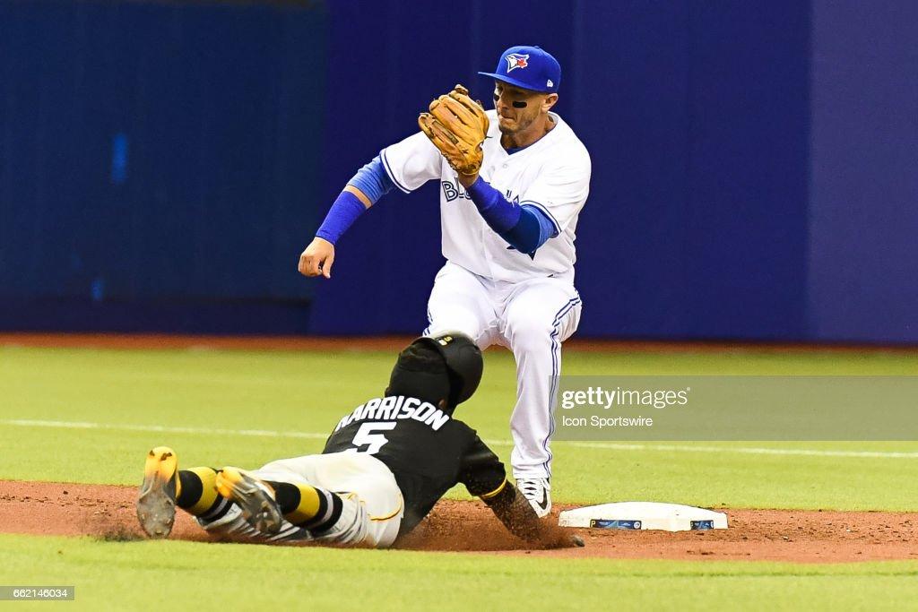 MLB: MAR 31 Spring Training - Pirates at Blue Jays : News Photo