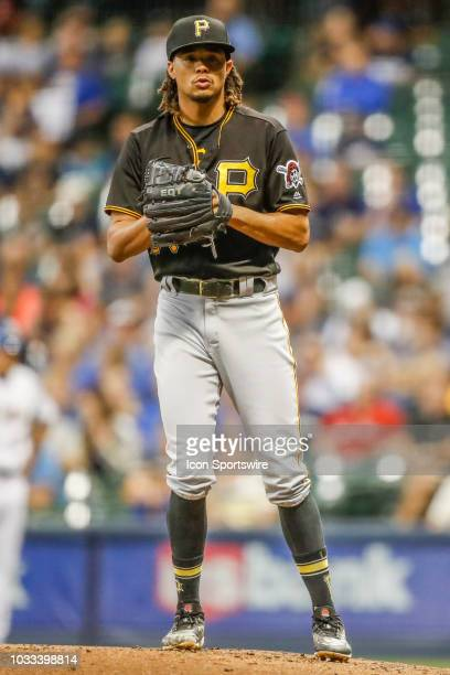 Pittsburgh Pirates starting pitcher Chris Archer during the first game of the final home series between the Milwaukee Brewers and the Pittsburgh...