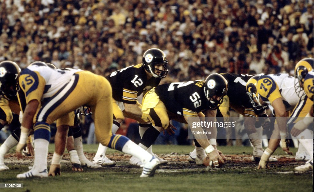 Super Bowl XIV - Los Angeles Rams vs Pittsburgh Steelers - January 20, 1980 : News Photo