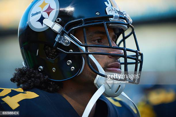 Pittsburgh Steelers cornerback Ross Cockrell looks on during a NFL football game between the Pittsburgh Steelers and the Baltimore Ravens on December...