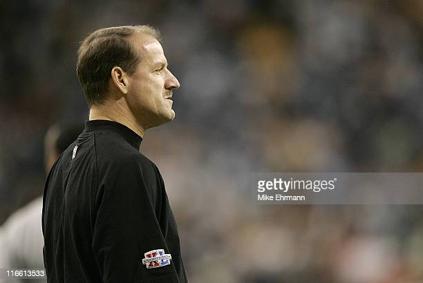 Pittsburgh Steelers head coach Bill Cowher during Super Bowl XL between the Pittsburgh Steelers and Seattle Seahawks at Ford Field in Detroit...