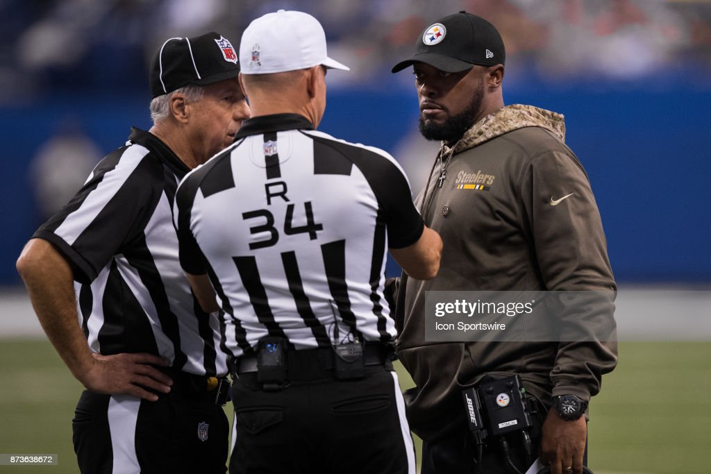 NFL: NOV 12 Steelers at Colts : News Photo