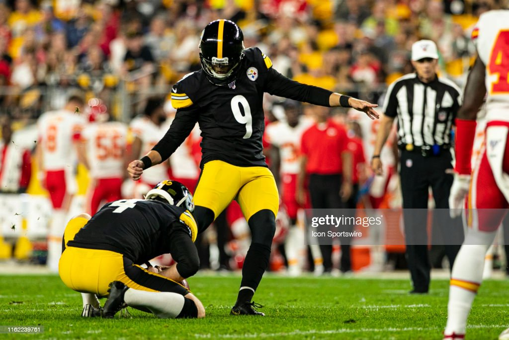 NFL: AUG 17 Preseason - Chiefs at Steelers : News Photo