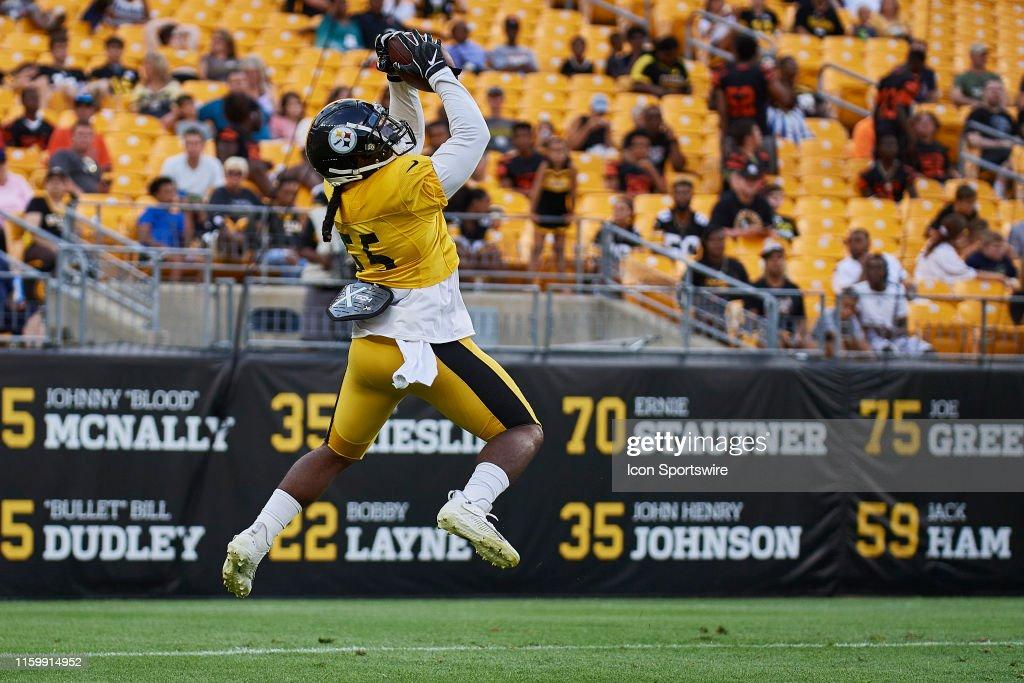 NFL: JUL 04 Steelers Training Camp : News Photo