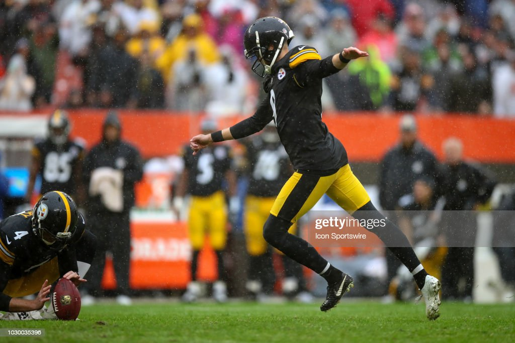 NFL: SEP 09 Steelers at Browns : News Photo