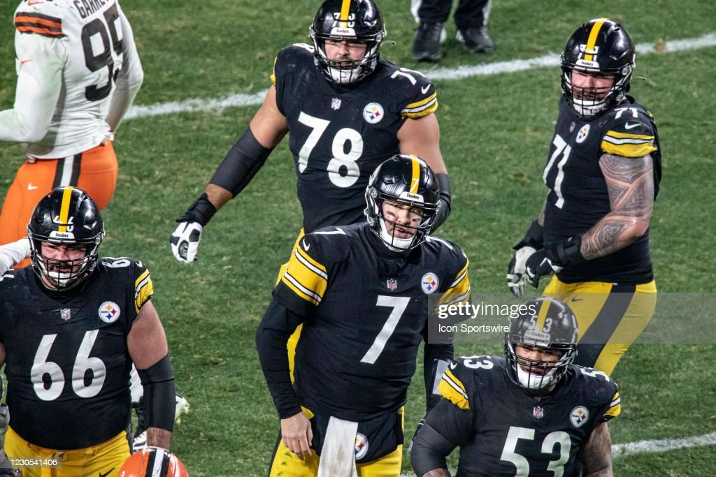 NFL: JAN 10 AFC Wild Card - Browns at Steelers : News Photo