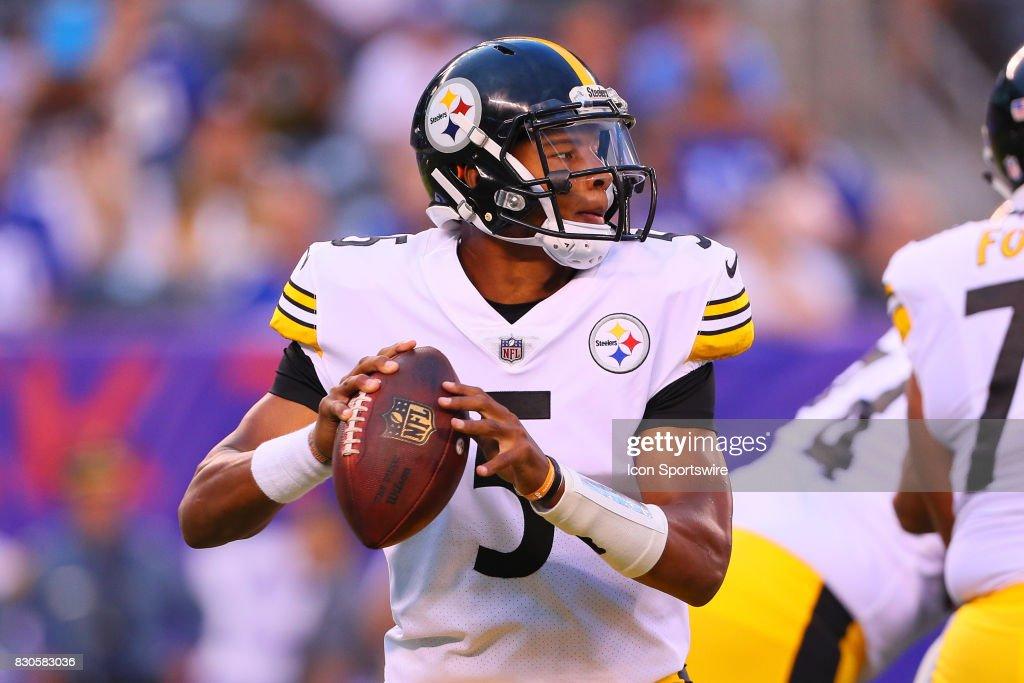 NFL: AUG 11 Preseason - Steelers at Giants : News Photo
