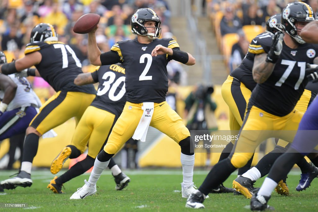 NFL: OCT 06 Ravens at Steelers : News Photo