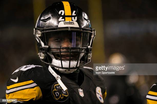 Pittsburgh Steelers Running Back Le'Veon Bell looks on during the game between the Baltimore Ravens and the Pittsburgh Steelers on December 10 2017...