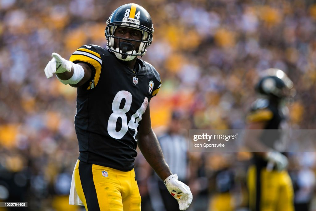 NFL: SEP 16 Chiefs at Steelers : News Photo