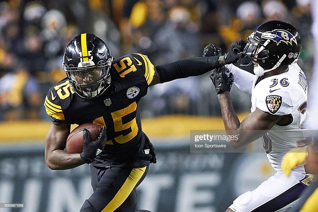 NFL: DEC 25 Ravens at Steelers : News Photo