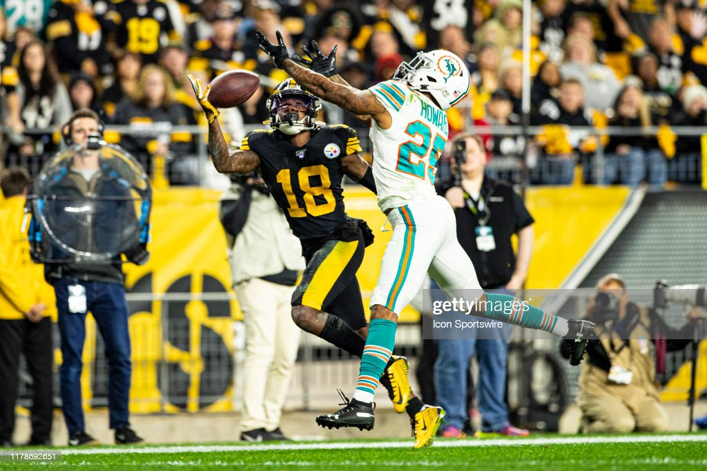 NFL: OCT 28 Dolphins at Steelers : News Photo