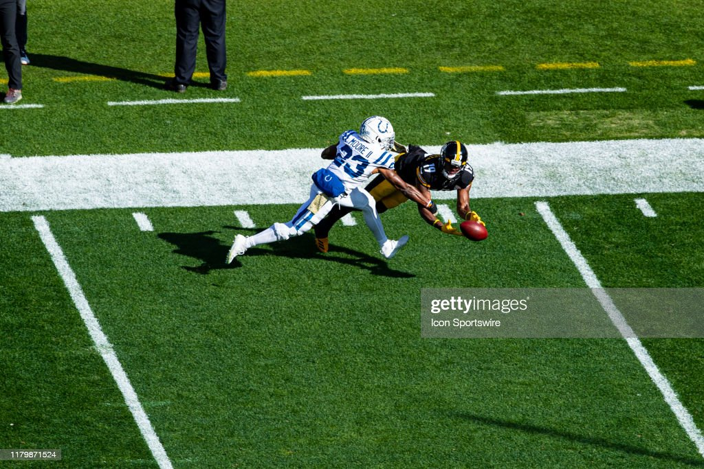 NFL: NOV 03 Colts at Steelers : News Photo