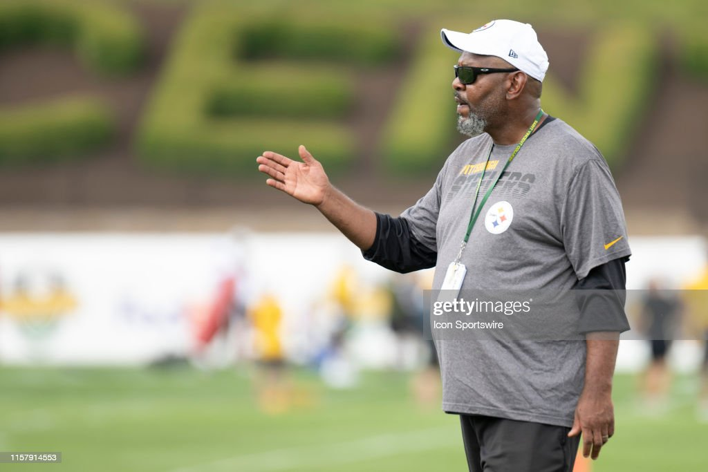 NFL: JUL 26 Steelers Training Camp : News Photo