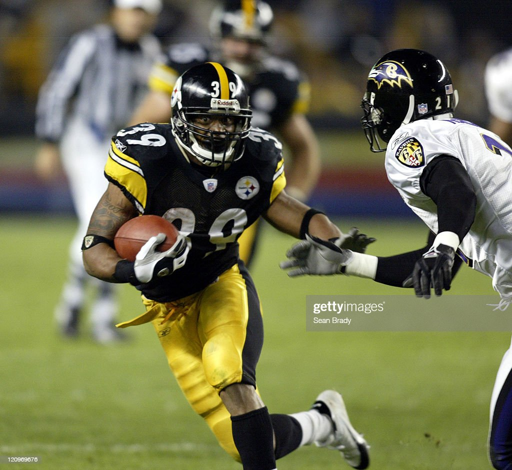 Baltimore Ravens vs Pittsburgh Steelers - October 31, 2005
