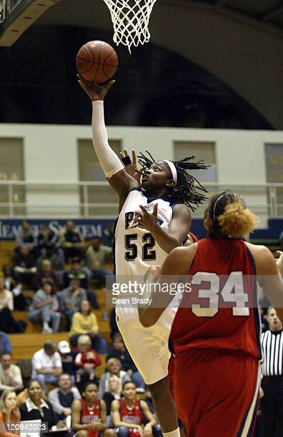 Pittsburgh's Cheron Taylor lays in 2 points against Mississippi during second round action of the WNIT at the Fitzgerald Field House on March 22 2006...