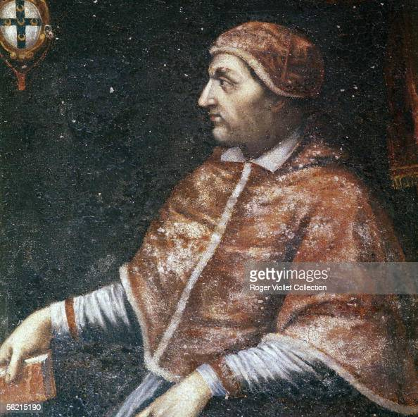 Pius III , pope on 1503. Anonymous painting. Pienza , museum of the... News Photo - Getty Images