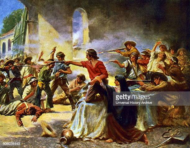 A pivotal event in the Texas Revolution Following a 13day siege Mexican troops under President General Antonio López de Santa Anna launched an...
