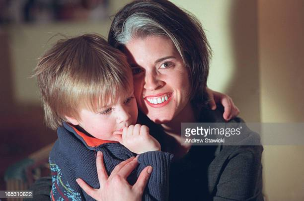 pix of Avery Haines and her son Riley age 4