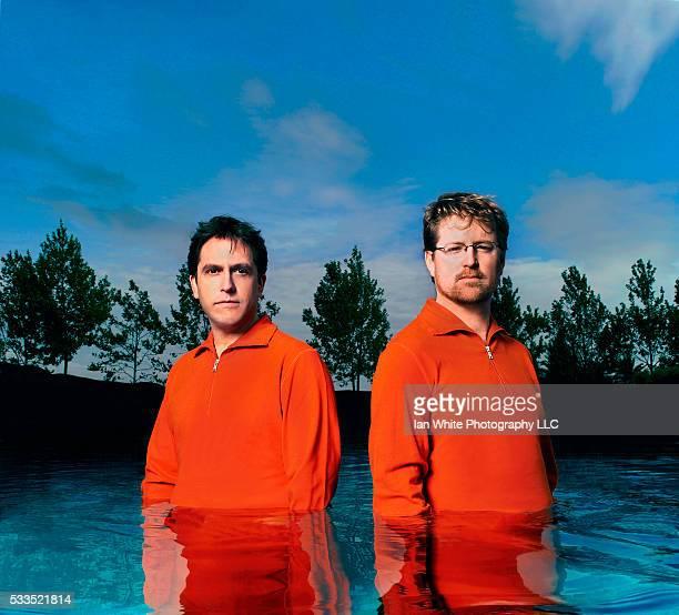 Pixar Directors Lee Unkrich and Andrew Stanton