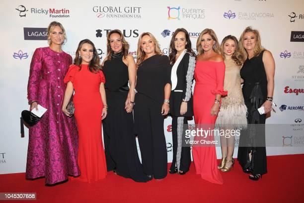 Pixie Devlyn, Silvia Rojo, Sabrina Herrera , Rosaura Henkel , Margarita Perez Cuellar , Jenny Cavabie, Monica Zapata and Ana Cecilia Romero attend...