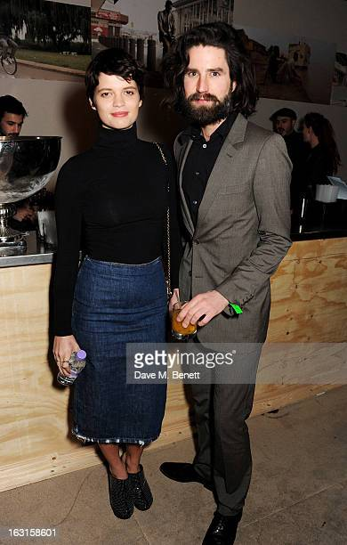 Pixie Geldof and Jack Guinness attend as Diesel Edun present 'Studio Africa' hosted by Boiler Room at the Old Selfridges Hotel on March 5 2013 in...