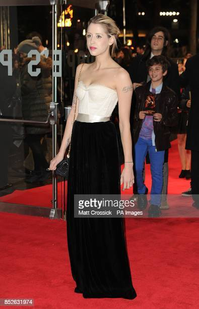 Pixie Geldof arriving for the World Premiere of The Hunger Games Catching Fire at the Odeon Leicester Square London