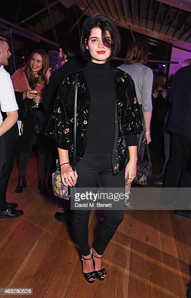 Pixie Geldof attends a cocktail party hosted by haircare brand John Frieda to celebrate the launch of their 2015 products at Oxo Tower Wharf on...